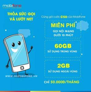 Đăng ký gói C50 Mobifone
