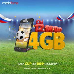 Đăng ký gói CUP Mobifone