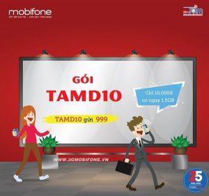 Đăng ký gói TAMD10 Mobifone