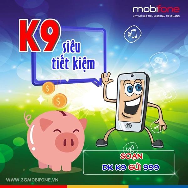 Cách đăng ký gói K9 Mobifone