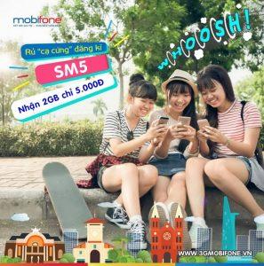 Cách đăng ký gói SM5 Mobifone