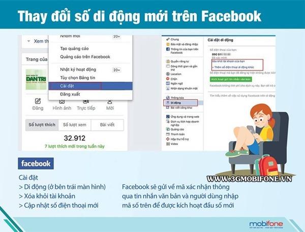 Cách chuyển số điện thoại 11 số về 10 số trên Facebook, Gmail, Zalo