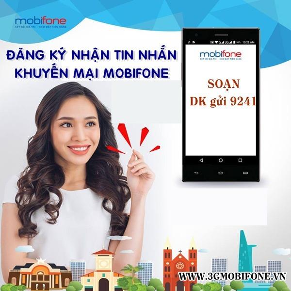Cách đăng ký nhận tin nhắn khuyến mãi Mobifone