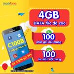 Cách đăng ký gói C100B Mobifone