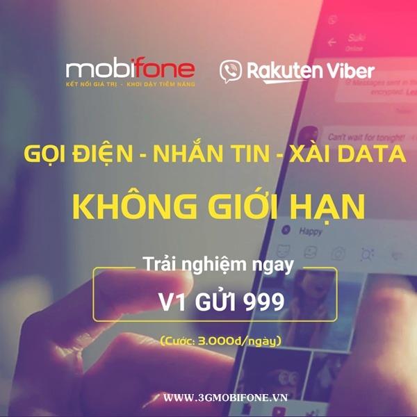 Đăng ký gói Data Viber Mobifone