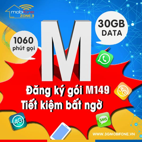 Cách đăng ký gói M149 Mobifone