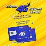 Đổi Sim 4G Mobifone nhận Data khủng