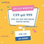Đăng ký gói C29 Mobifone