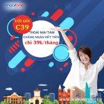 Cách đăng ký gói C39 Mobifone