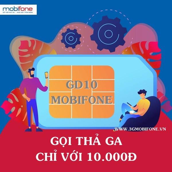 Cách đăng ký gói GD10 Mobifone