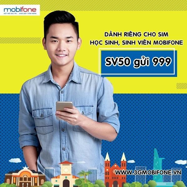 Đăng ký gói SV50 Mobifone