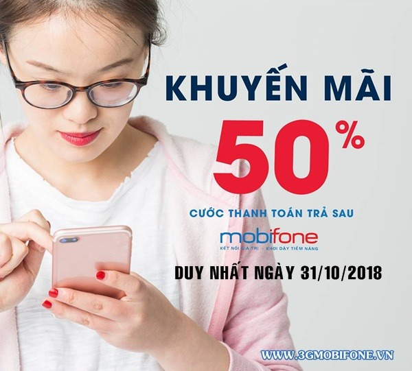 Mobifone khuyến mãi ngày 31/10/2018