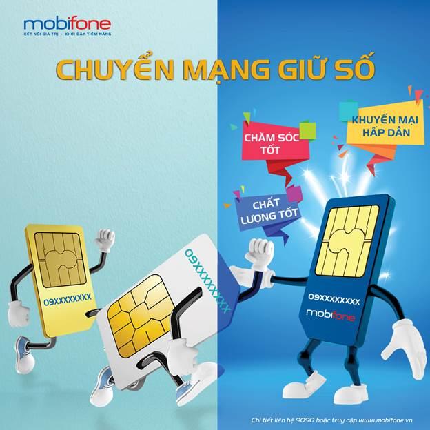 Cách chuyển mạng khác sang mạng Mobifone