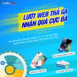 Khuyến mãi Đăng ký gói cước 4G Mobifone nhận iphone X