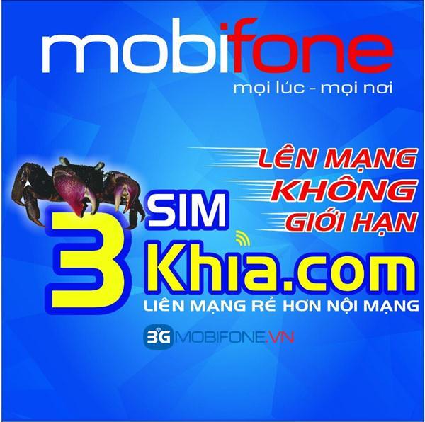 Cách đăng ký 4G Mobifone cho Sim Ba khía