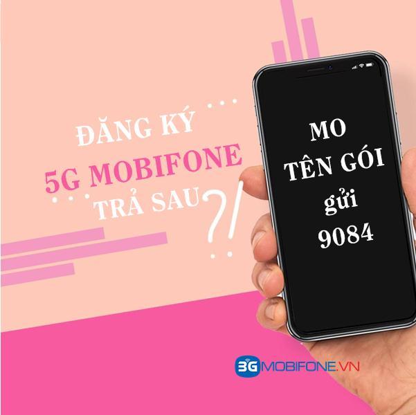 Cách đăng ký 5G Mobifone cho thuê bao trả sau