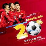 Chương trình Mobifone khuyến mãi Ngày Vàng 19/12/2018