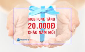 Mobifone khuyến mãi tặng 20.000đ