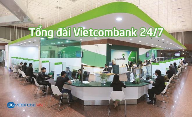 Số tổng đài Vietcombank