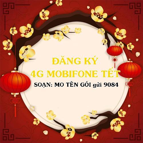 Gói 4G Mobifone xài tết Nguyên Đán