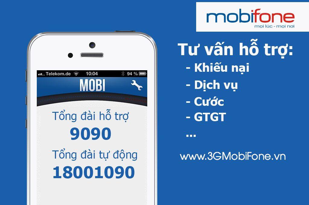 Các số tổng đài MobiFone, số điện thoại hỗ trợ cskh MobiFone 24/7
