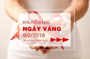Mobifone khuyến mãi ngày vàng 9/2/2019