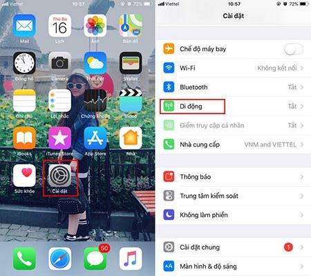 Cách phát wifi từ iPhone