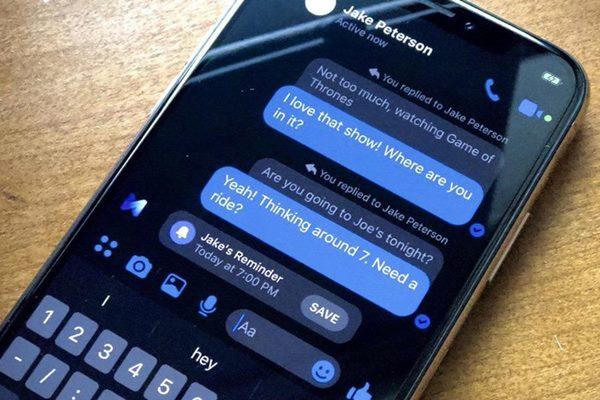 Cách trích dẫn tin nhắn Facebook Messenger