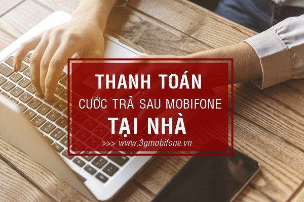 Cách thanh toán cước trả sau Mobifone tại nhà
