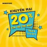 Mobifone khuyến mãi ngày 22/5/2019