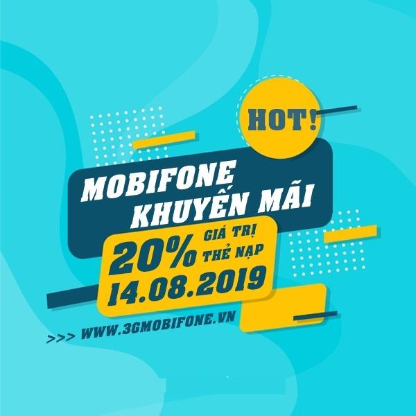 Mobifone khuyến mãi ngày vàng 14/8/2019