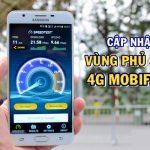 Cập nhật vùng phủ sóng 4G Mobifone