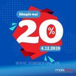 Mobifone khuyến mãi ngày 4/12/2019