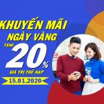 Mobifone khuyến mãi ngày 10/1/2020a