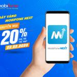 Mobifone khuyến mãi ngày 22/2/2020 tặng 20% thẻ nạp