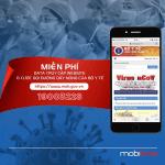 Mobifone miễn phí cước gọi đến đường dây nóng bộ y tế