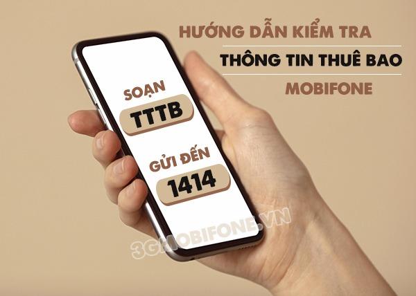 Hướng dẫn cách kiểm tra thông tin thuê bao Mobifone