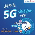 Bảng giá các Gói cước 5G Mobifone 1 ngày giá rẻ