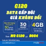 Cách đăng ký gói cước C120 Mobifone nhận 120GB mỗi tháng chỉ 120.000đ