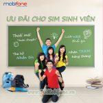 Các ưu đãi hấp dẫn dành cho sim sinh viên Mobifone