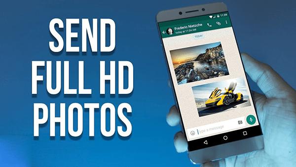 Hướng dẫn cách gửi ảnh chất lượng HD trên điện thoại