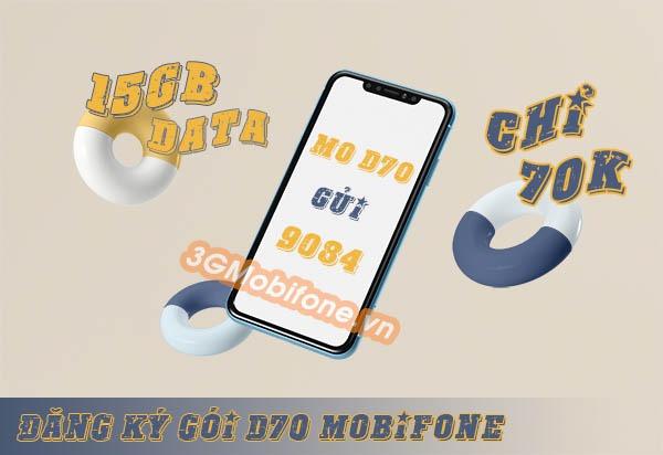 Hướng dẫn cách đăng ký gói cước D70 Mobifone