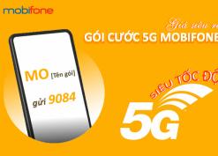 Cách đăng ký 5G Mobifone ưu đãi data khủng theo ngày, theo tháng, theo năm