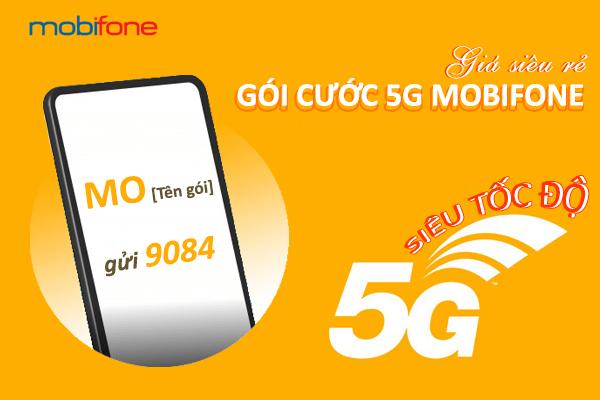 Cách đăng ký gói cước 5G Mobifone ưu đãi data khủng theo ngày, theo tháng, theo năm