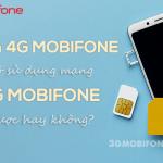 Sim 4G Mobifone có dùng mạng 5G Mobifone được không?