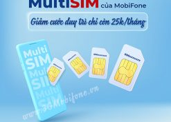 Mobifone giảm cước duy trì MultiSIM