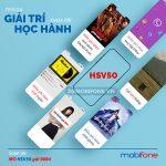 Đăng ký gói cước HSV50 Mobifone nhận ưu đãi khủng chỉ với 50k/tháng