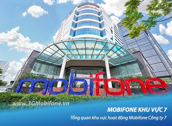 Mobifone khu vực 7, tổng quan khu vực hoạt động Mobifone công ty 7