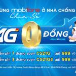 Gói cước 4G 0 đồng Mobifone cho các tỉnh miền Tây