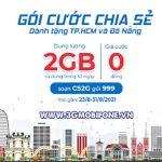 Mobifone tặng 2GB data miễn phí cho thuê bao tại HCM và Đà Nẵng